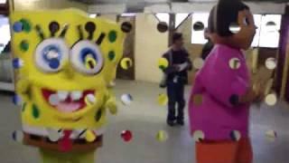 sponge bob vs dora