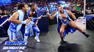 The New Day vs. Heath Slater, Titus O'Neil & Curtis Axel - SmackDown, November 28, 2014