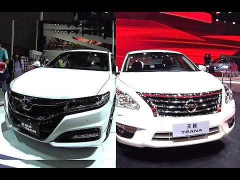 Luxury Affordable sedans 2016, 2017 Honda Accord Spirior VS Nissan Teana Sentra 2016, 2017 model