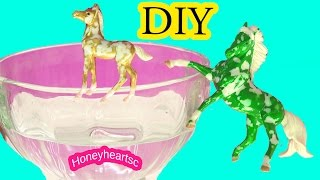 getlinkyoutube.com-Custom Breyer Florentine Do It Yourself Painting Craft Video - Honeyheartsc Horses