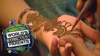 18Yr Old Gets First Henna Tattoo From Mom | Supernanny USA
