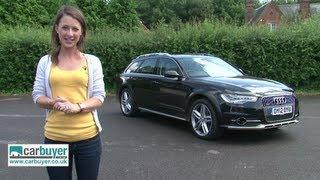 getlinkyoutube.com-Audi A6 Allroad Quattro estate review - Carbuyer
