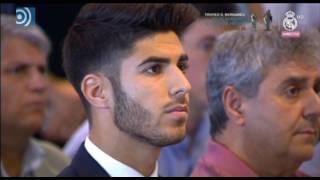 getlinkyoutube.com-Marco Asensio se emociona en su presentación como jugador del Real Madrid