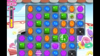 getlinkyoutube.com-Candy Crush Level 607 - Double Chocolates, how to move frog, Frogtastic!