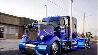 Worlds most custom  Kenworth 900 built by Texas Chrome Trucks!