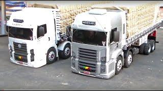 getlinkyoutube.com-MINIATURA VOLKS CONSTELLATION - Mini Truck - Feito de Madeira