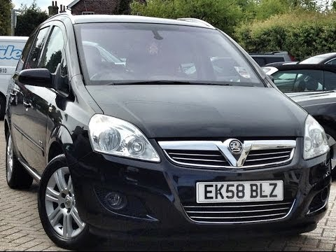 Vauxhall Zafira 1.8i Elite 5dr  For Sale at CMC-Cars
