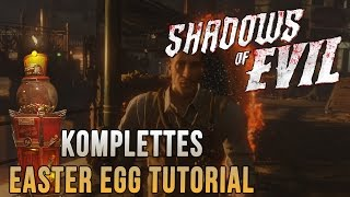 Shadows of Evil Komplettes Haupt/Major Easter  Egg Tutorial | Black Ops 3: Zombies[German/Deutsch]