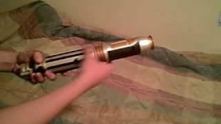 getlinkyoutube.com-Mace Windu Lightsaber Review