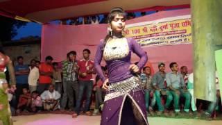 getlinkyoutube.com-Karata Lahenga Las Las Arkesta dance in manikpur,Lakhisari 2016 hold at Durga puja
