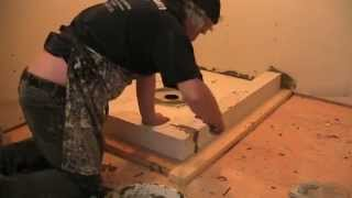 getlinkyoutube.com-Schluter Shower Kerdi Kit Installation, Part 1