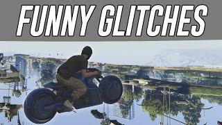 getlinkyoutube.com-FUNNY GLITCHES TO DO IN GTA 5 ONLINE (GTA 5 Glitches & Tricks)