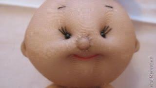 getlinkyoutube.com-Куклы из носков чулков своими руками