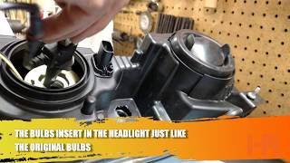 getlinkyoutube.com-2015 Ford F-150 LED Headlight Bulbs   Headlight Revolution