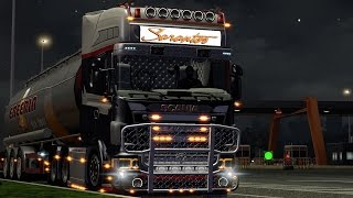 getlinkyoutube.com-Euro Truck Simulator - Scania R2008 Sarantos