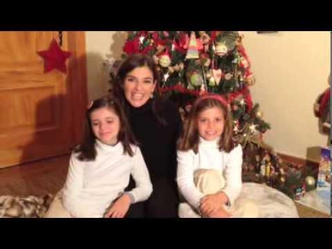 Mensagem de Maria de Vasconcelos e Família para todas as Famílias da Cócegas nos Pés AMIGA