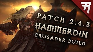 getlinkyoutube.com-2.4.3 Crusader Hammerdin Build - Diablo 3 Reaper of Souls Season 9