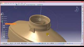 getlinkyoutube.com-make stl.file to surface By catia v.5(tutorial)