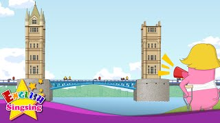 getlinkyoutube.com-London Bridge is Falling Down - Lyrics & Karaoke - Fun Nursery Rhymes for Kids - Cartoon Rhymes