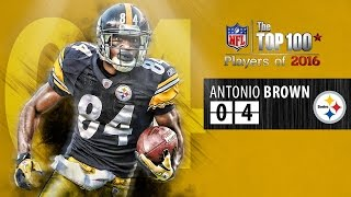 getlinkyoutube.com-#04 Antonio Brown (WR, Steelers) | Top 100 Players of 2016