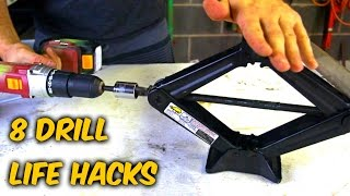 getlinkyoutube.com-8 Drill Life Hacks