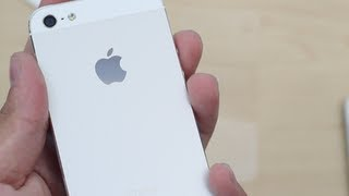 getlinkyoutube.com-White iPhone 5 Unboxing 16GB