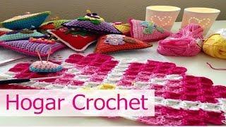 getlinkyoutube.com-Decoracion para el Hogar tejida en crochet