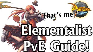 getlinkyoutube.com-DFO 101: Elementalist's Beginner PvE Guide | DFO