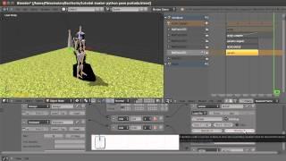 Tutorial 05: Blending animatios in blender in Game Engine
