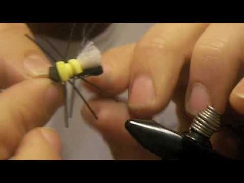 Scotts Virtual Fly Tying - Scott's Cicada