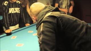 getlinkyoutube.com-Ryan Tricks - Pool table Trick