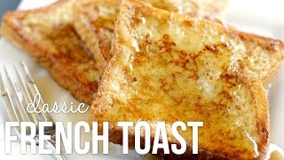 getlinkyoutube.com-How to Make French Toast!! Classic Quick and Easy Recipe