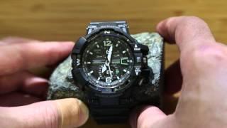 getlinkyoutube.com-Casio G-Shock GW-A1100 demonstration