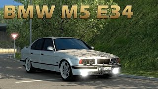 getlinkyoutube.com-ETS2 BMW M5 E34 CAR MOD (Euro Truck Simulator 2)