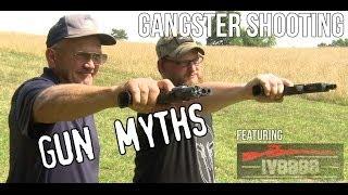 getlinkyoutube.com-Gangster shooting- Gun Myths with Jerry Miculek & Iraqveteran8888