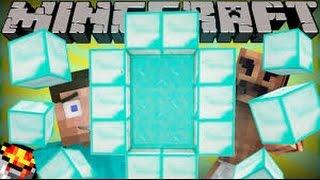 getlinkyoutube.com-ถ้า Minecraft มีประตูมิติเพชร