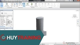 getlinkyoutube.com-[Revit Architecture 2014]Tạo Massing In Place Phần 1
