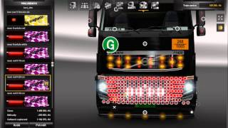 getlinkyoutube.com-Euro Truck simulator 2 Mod Tuning Volvo