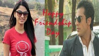 getlinkyoutube.com-Saath Nibhana Saathiya: Ahem-Rashi's off screen Friendship day celebration