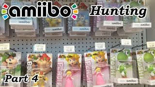 Amiibo Hunting With Rare Find? Unboxing Part 4