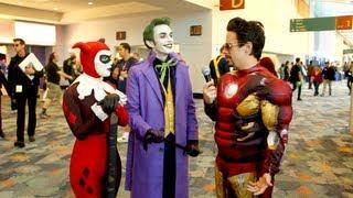 getlinkyoutube.com-Harley's Joker Interview: WonderCon 2013