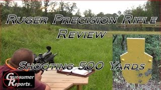 getlinkyoutube.com-Ruger Precision Rifle Review: Shooting 500 Yards