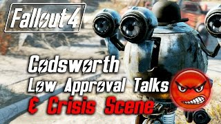 getlinkyoutube.com-Fallout 4 - Codsworth - All Low Approval Talks & Crisis Scene (Codsworth Leaves Forever)