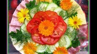 getlinkyoutube.com-Красивая нарезка овощей
