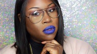 getlinkyoutube.com-Anastasia Beverly Hills Lip Kit   First Impressions   Review   Deep Skin Tone