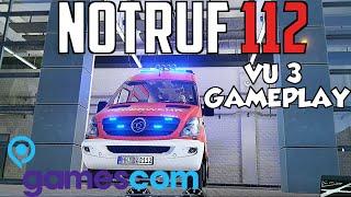 getlinkyoutube.com-NOTRUF 112 - SCHWERER VERKEHRSUNFALL GAMEPLAY [Gamescom]