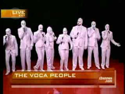 The Voca People, na integra. Entrevista com integrantes do Grupo