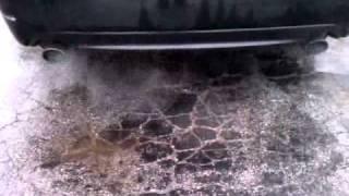 getlinkyoutube.com-Cleaning my catalytic converter 05 subaru legacy