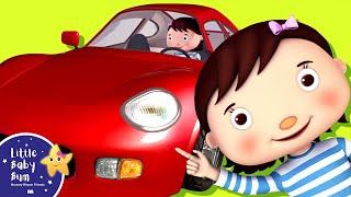 getlinkyoutube.com-Driving In My Car Song | Nursery Rhymes | Original Song by LittleBabyBum!