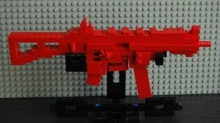 getlinkyoutube.com-Lego UMP 45 submachine gun